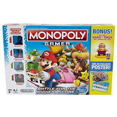 HOT SELLER!!!! Monopoly Gamer with Wario Token And An Exclusive (Wario Pumpkin)