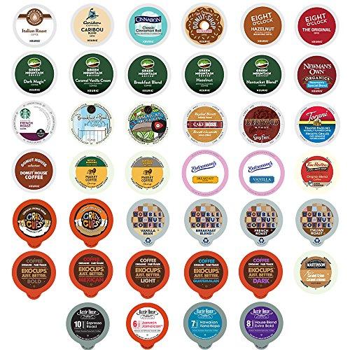 Custom Variety Pack Coffee for Keurig K-Cup Brewers, 40 Count