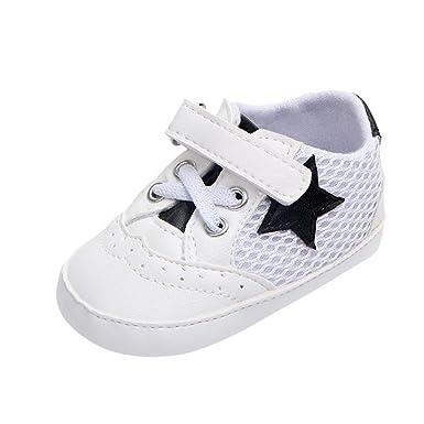 Zapatos de Verano para Bebé 💋💝 Yesmile Zapatos de Malla de Deporte con la Patrón Estrella Sandalias Causales Antideslizante con Suave Suela Zapatillas ...