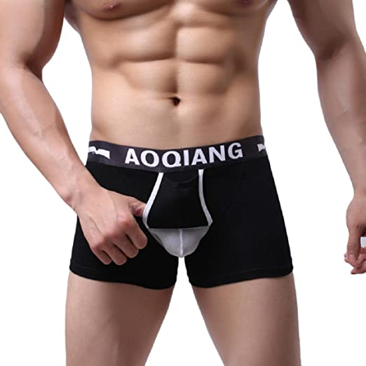 AOQIANG Tonsee Sexy Underwear Men's Boxer Briefs Shorts Bulge Pouch soft Underpants