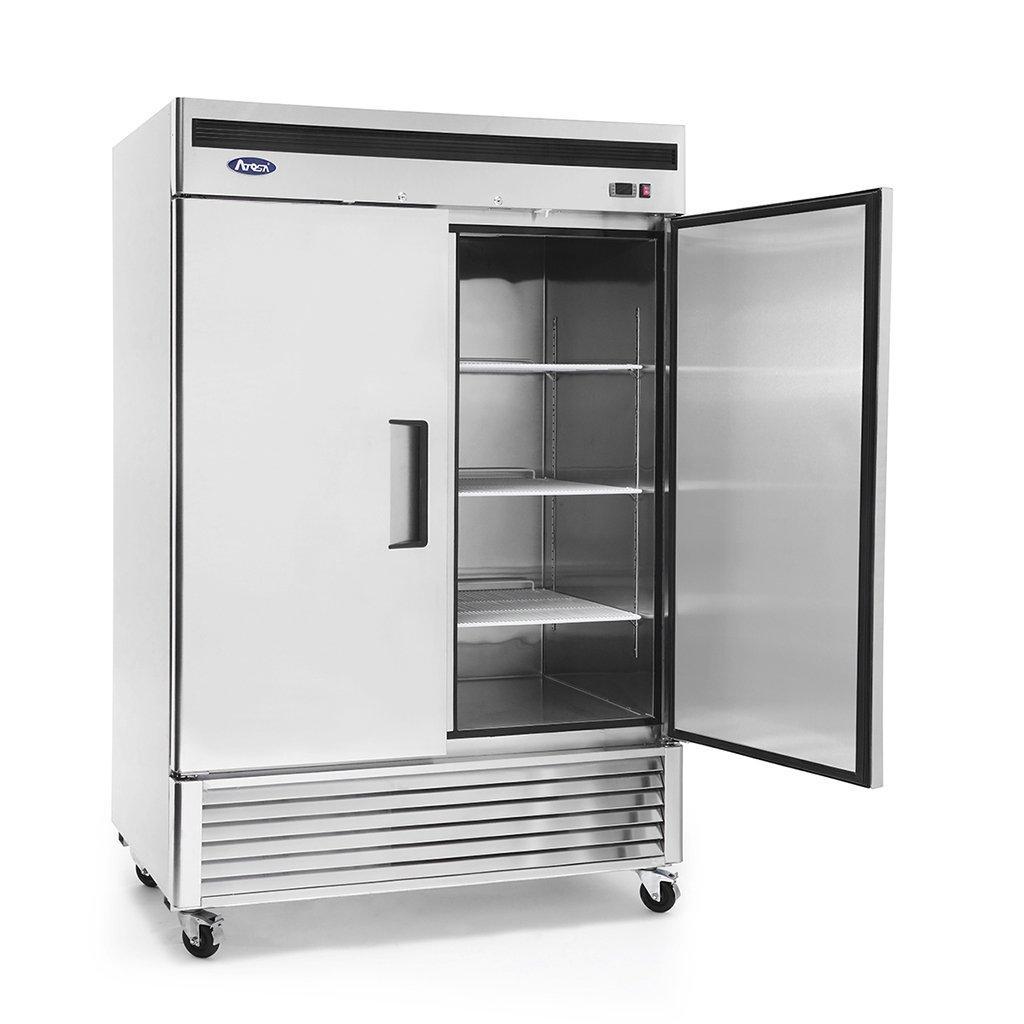 Amazon.com: Atosa MBF8507 Bottom Mount (2) Two Door Refrigerator: Appliances