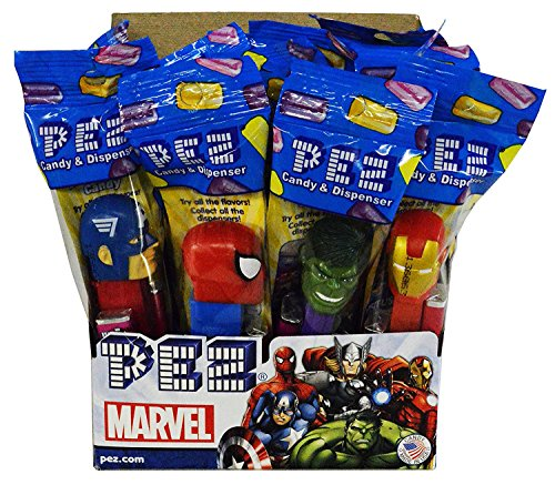 marvel-comics-pez-candy-dispensers-pack-of-12