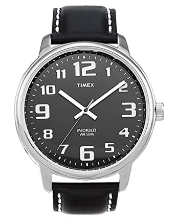 ca3af4d78b76 Amazon.com  Timex Men s Easy Reader Large Dial Watch  Timex  Watches