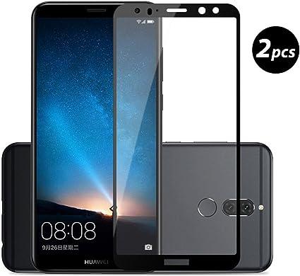 EUGO [2-Unidades] Huawei Mate 10 Lite Protector de Pantalla, Alta ...