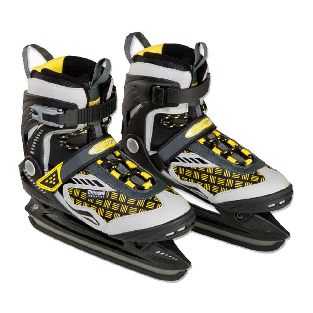 –Patines Patinaje las Perlas son de hockey sobre hielo patines de acero al carbono endurecido tamaño 39 aspiria nonfood GmbH