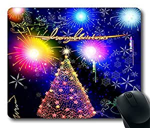 Design Christmas In Mangrove2 Mouse Pad Desktop Laptop Mousepads Comfortable Office Mouse Pad Mat Cute Gaming Mouse Pad