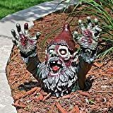 Zombie Gnombie Statue Outdoor Halloween Decoration