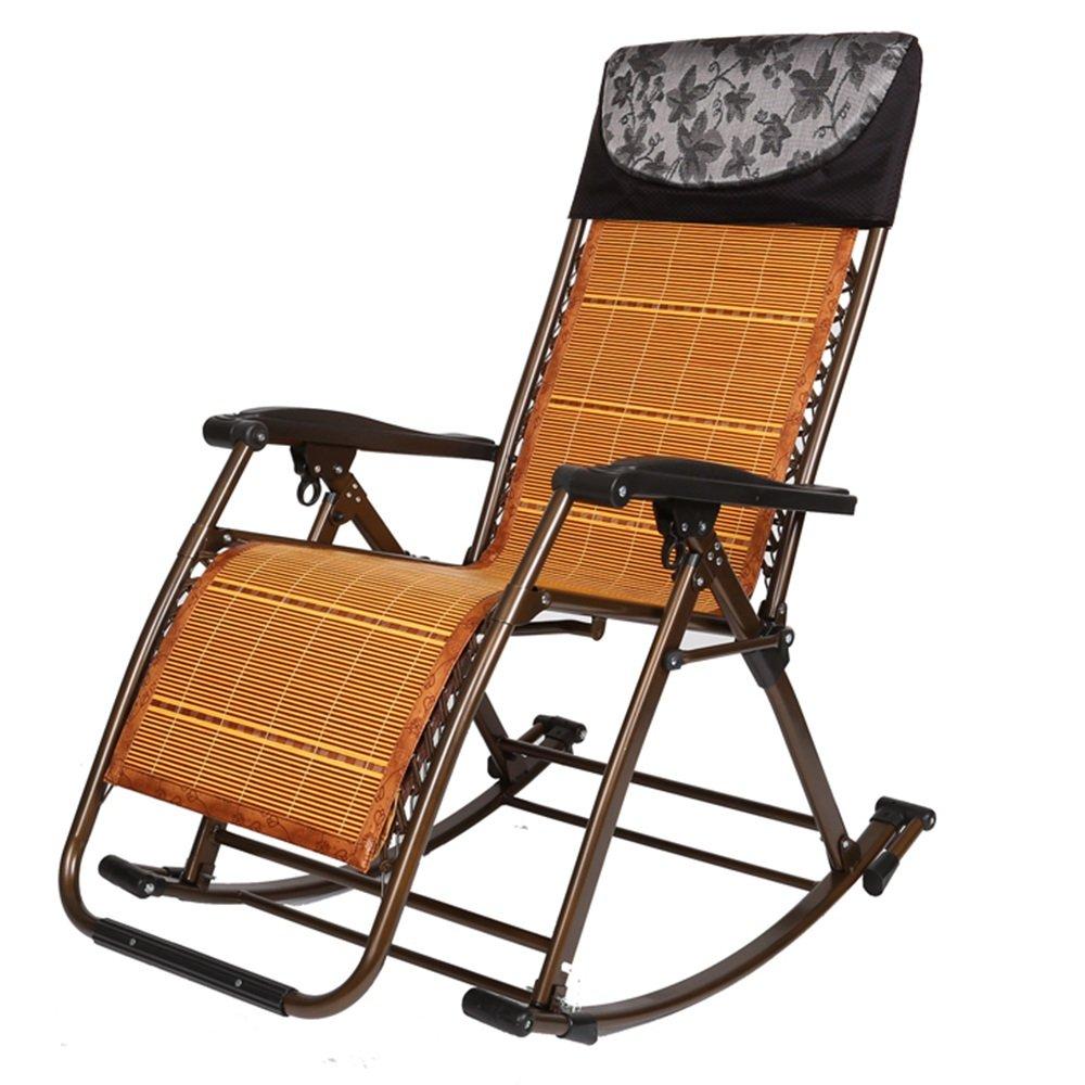 Faltbarer Plattform-Stuhl/faltende Sun-Liege/stützender Stuhl/entspannender Stuhl/Multifunktionsklappstuhl (2 Farben, zum von zu wählen) (Farbe : Schwarz)