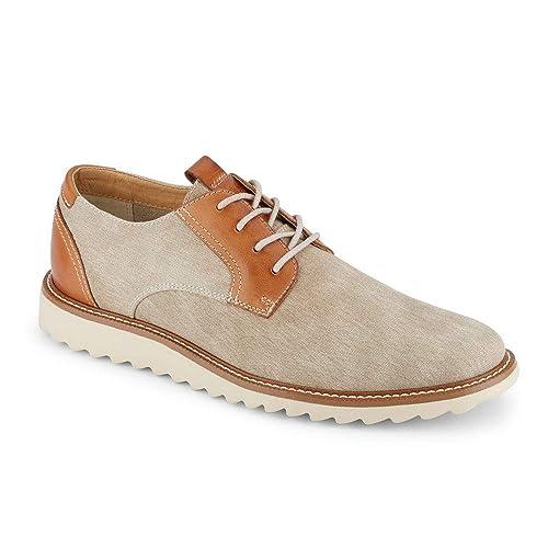 Dress Casual Canvas Oxford Shoe