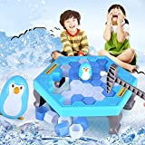 Penguins Ice Block Trap Activate Toy Save Penguins Interactive Maze Table Games