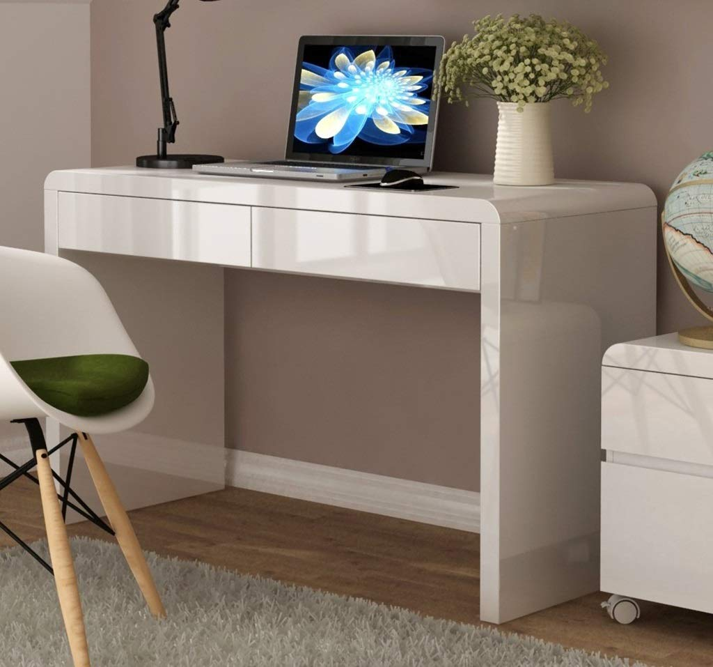 Dciszl Destacados Blancos 2 cajones for Oficina u Oficina en casa ...