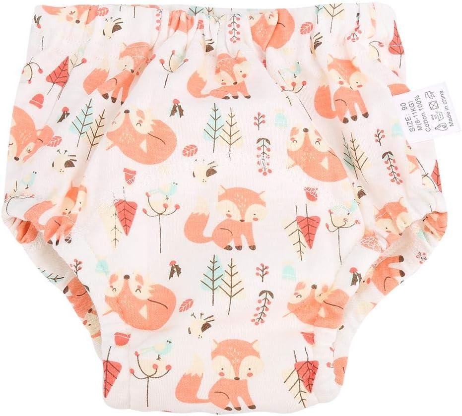 lavable r/éutilisable et r/éutilisable pour la peau Salmue Diaper Pants Pantalon de culotte dapprentissage du b/éb/é pour couches 4