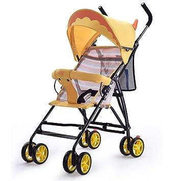 Ambiguity Sillas de Paseo,Super Carro de bebé de Ligero Plegable Infantil Paraguas Coche Verano Paseo: Amazon.es: Jardín