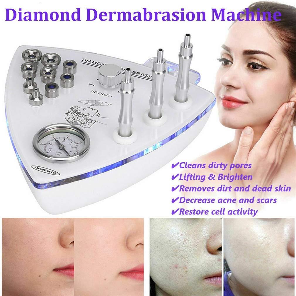 Home massager Facial Skin Peel Vacuum Beauty Machine/Diamond Microdermabrasion/Facial Peel Vacuum Spray Exfoliating Massage Blackhead Removal Moisture Mist