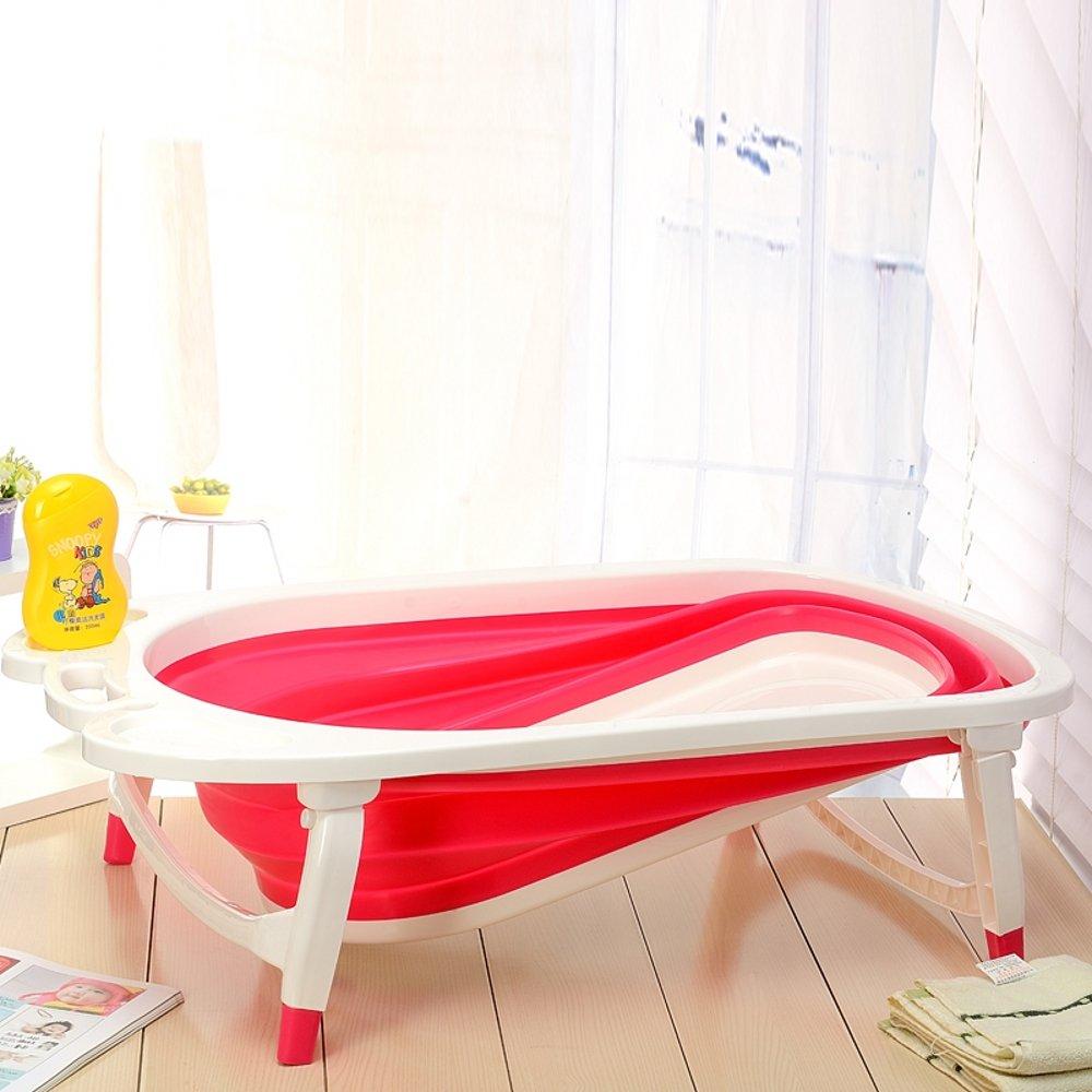 Aojia Baby Folding Bath Qfy1576 (Red)