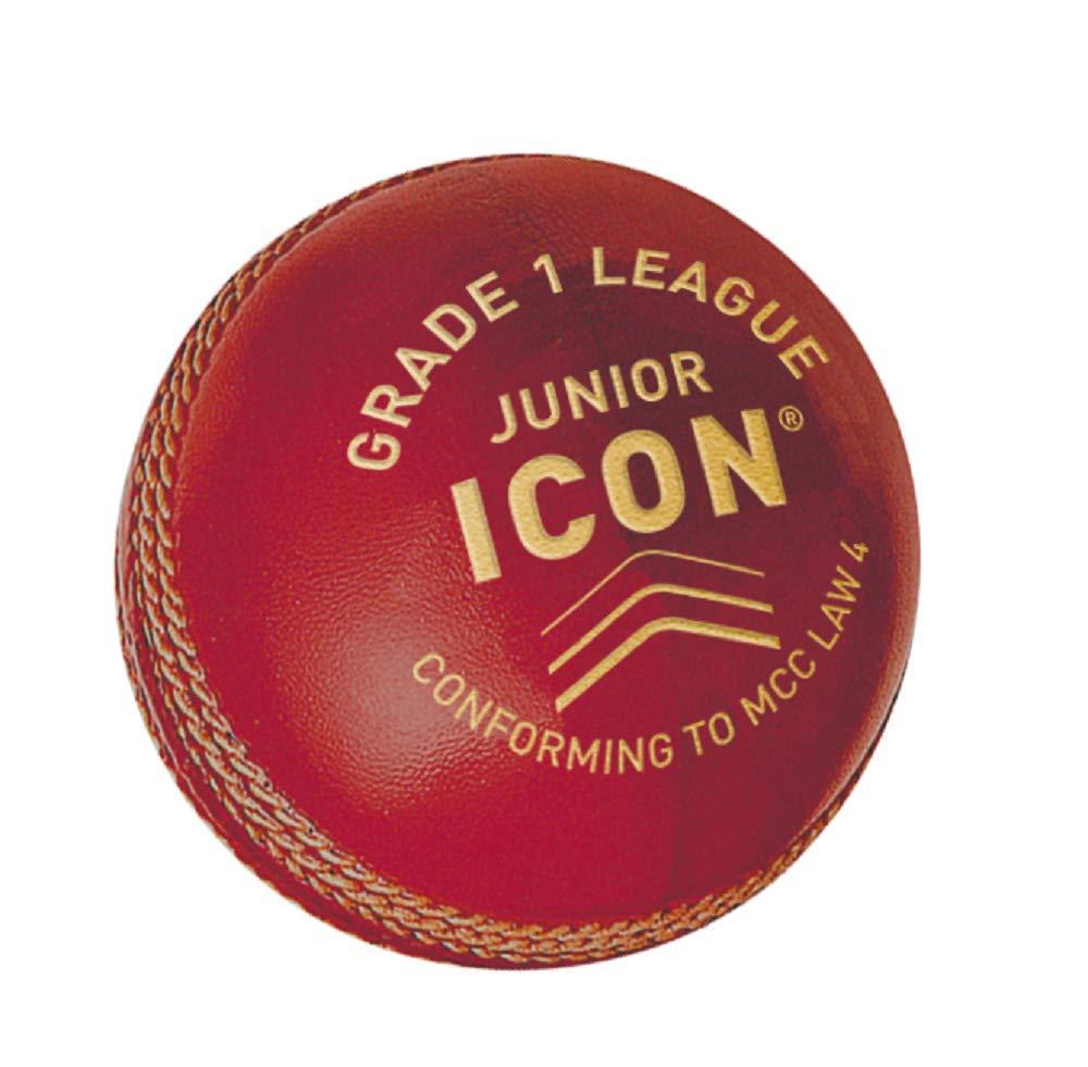 GM Kids Icono Grado 1 Liga Pelota de críquet, Color Rojo, Jone ...