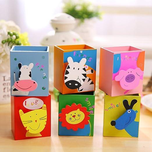 FOReverweihuajz Kawaii Pig, gato, diseño de animales caja de ...