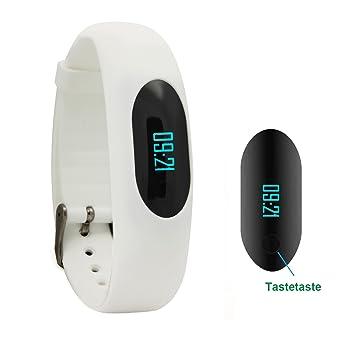 Willful Schrittzähler Armband Fitnessarmband Ohne Bluetooth Mit Uhr