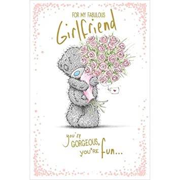 Amazon Me To You For My Fabulous Girlfriend Birthday Card