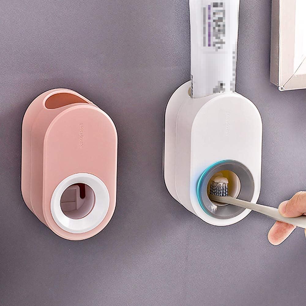 Spremi dentifricio Automatico Ldawy Dispenser di dentifricio 2 Pezzi Dispenser di dentifricio a Parete per Bagno