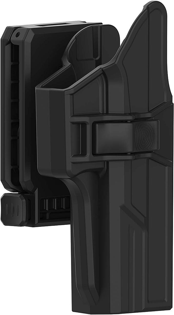 RH fits Colt 1911 Camouflage color belt clip OWB polymer retention holster