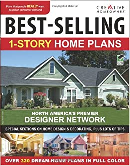 Best Selling 1 Story Home Plans (CH): Editors Of Creative Homeowner, Home  Plans: 9781580114820: Amazon.com: Books