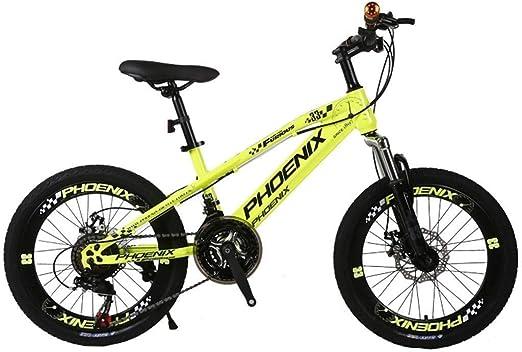 MDBYMX Bicicleta Infantil Bicicleta for niños 20 Pulgadas ...