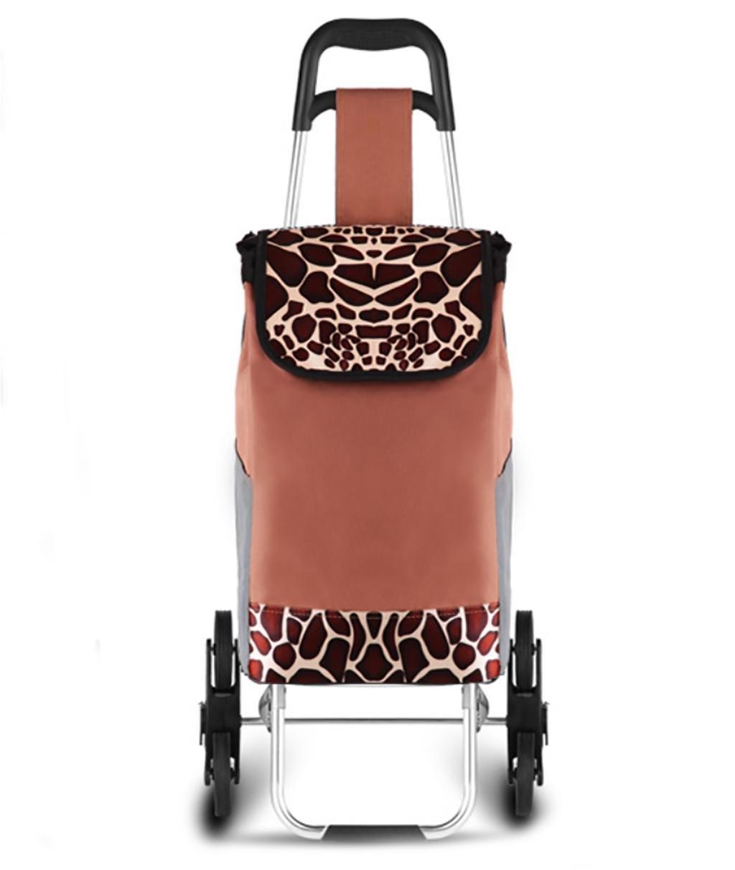 Cabaf Chariot Dolly Caddie Chariot avec siège d'escalade roulant commercial polyvalent pliant panier BLACK JXA