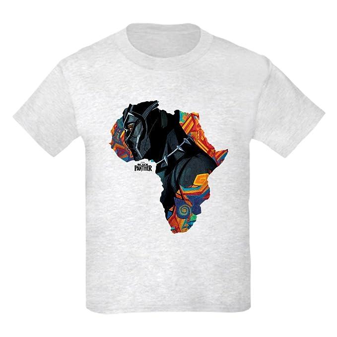 b06303e5 Amazon.com: CafePress Black Panther Africa - Kids Cotton T-Shirt: Clothing