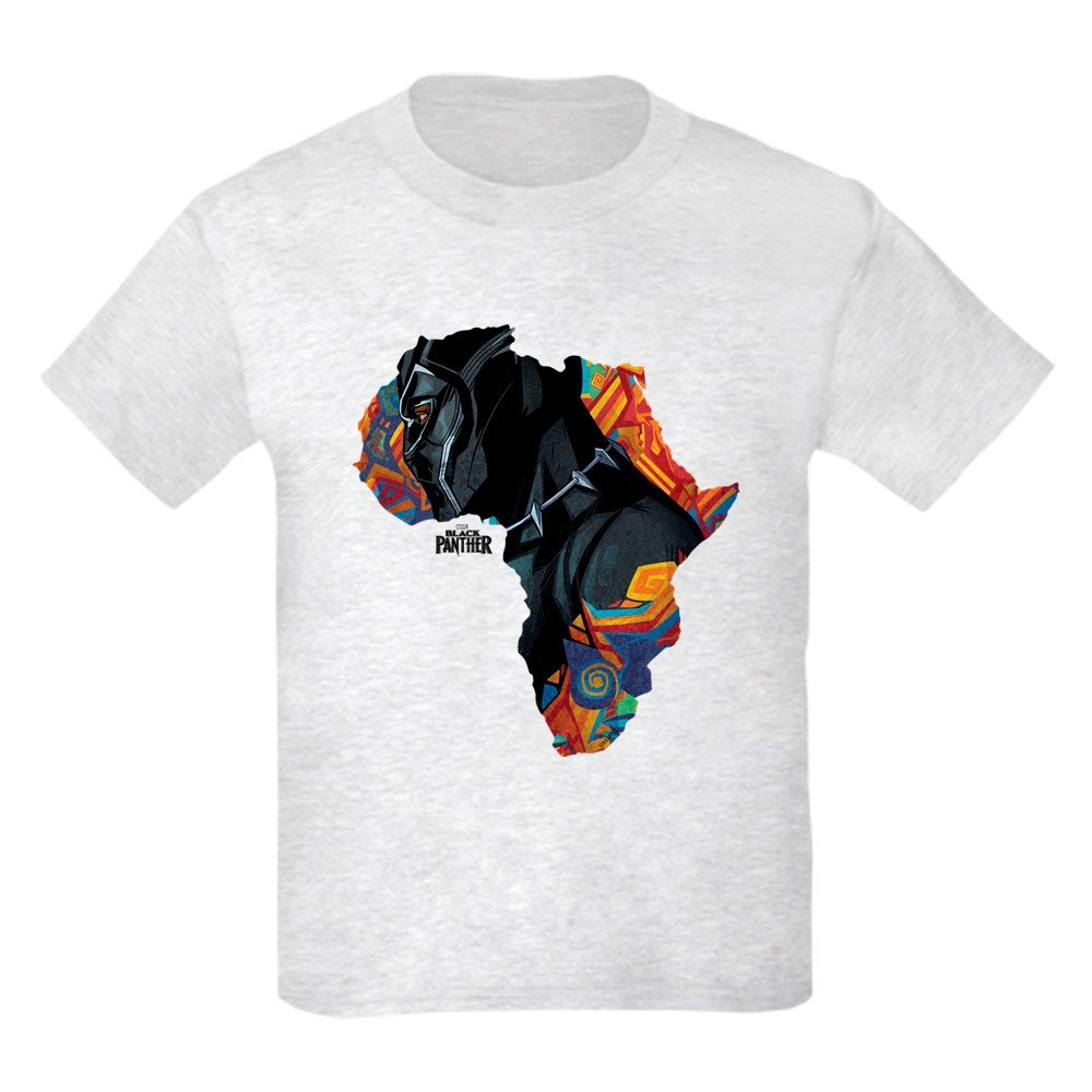 dea9a90f Amazon.com: CafePress Black Panther Africa Youth Kids Cotton T-Shirt ...