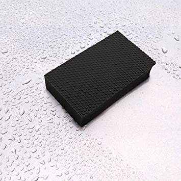 Lasts 3x Longer Than Traditional Clay Blocks Fine Grade Synthetic Clay Bar Sponge for Car Detailing Size Large The Perfect Clay Block Alternative to Speed Through Clay Detailing like Ma 2 Pack