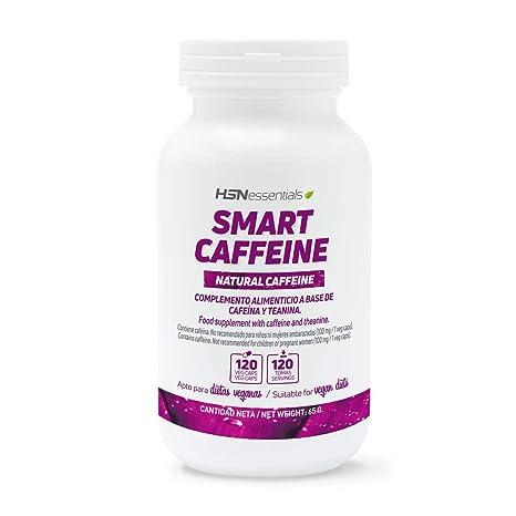HSN Essentials - CAFEÍNA INTELIGENTE - 120 veg caps: Amazon.es: Alimentación y bebidas