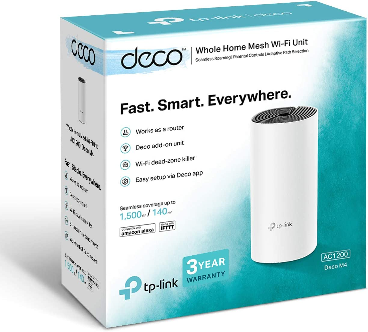 Tp Link Deco M4 1 Pack Wireless Router Dual Band Elektronik