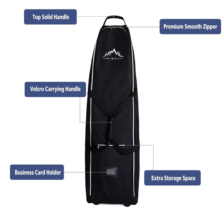 Amazon.com: Himal Bolsa de viaje de golf de suave cara ...