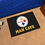 ": Fan Mats Pittsburgh Steelers Nfl Man Cave ""starter"" Floor Mat (20in X 30in)"
