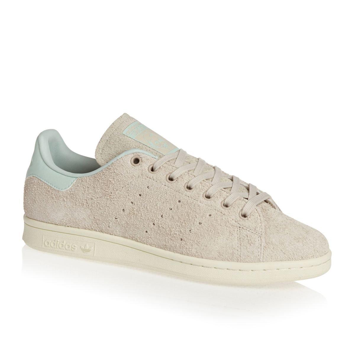 adidas Zapatillas Stan Smith W Beige/Verde/Blanco 36 EU|Beige