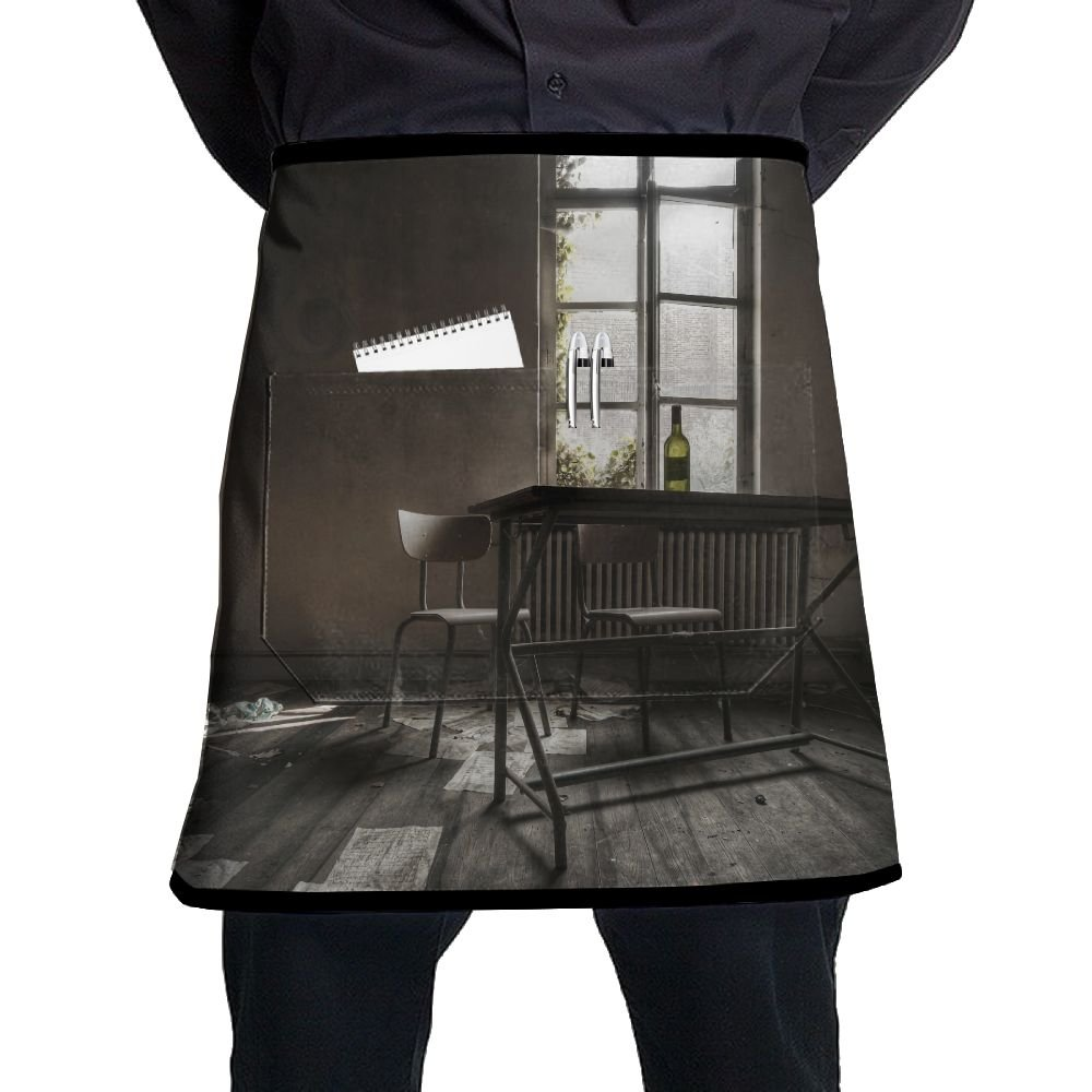 Room Interior Window Adjustable Apron With Pocket For Kitchen Garden Cooking Grilling Ladyâ€s Men's Great Gift For Wife Ladies Men Boyfriend