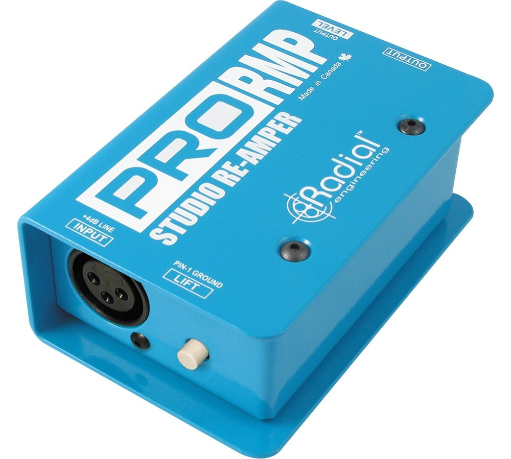 Radial Engineering ProRMP Studio Re-Amper Passive Re-Amping Direct Box