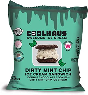 product image for Coolhaus Dirty Mint Chip Ice Cream Sandwich with Double Chocolate Cookies, 5.8 oz (1 Ice Cream Sandwich)