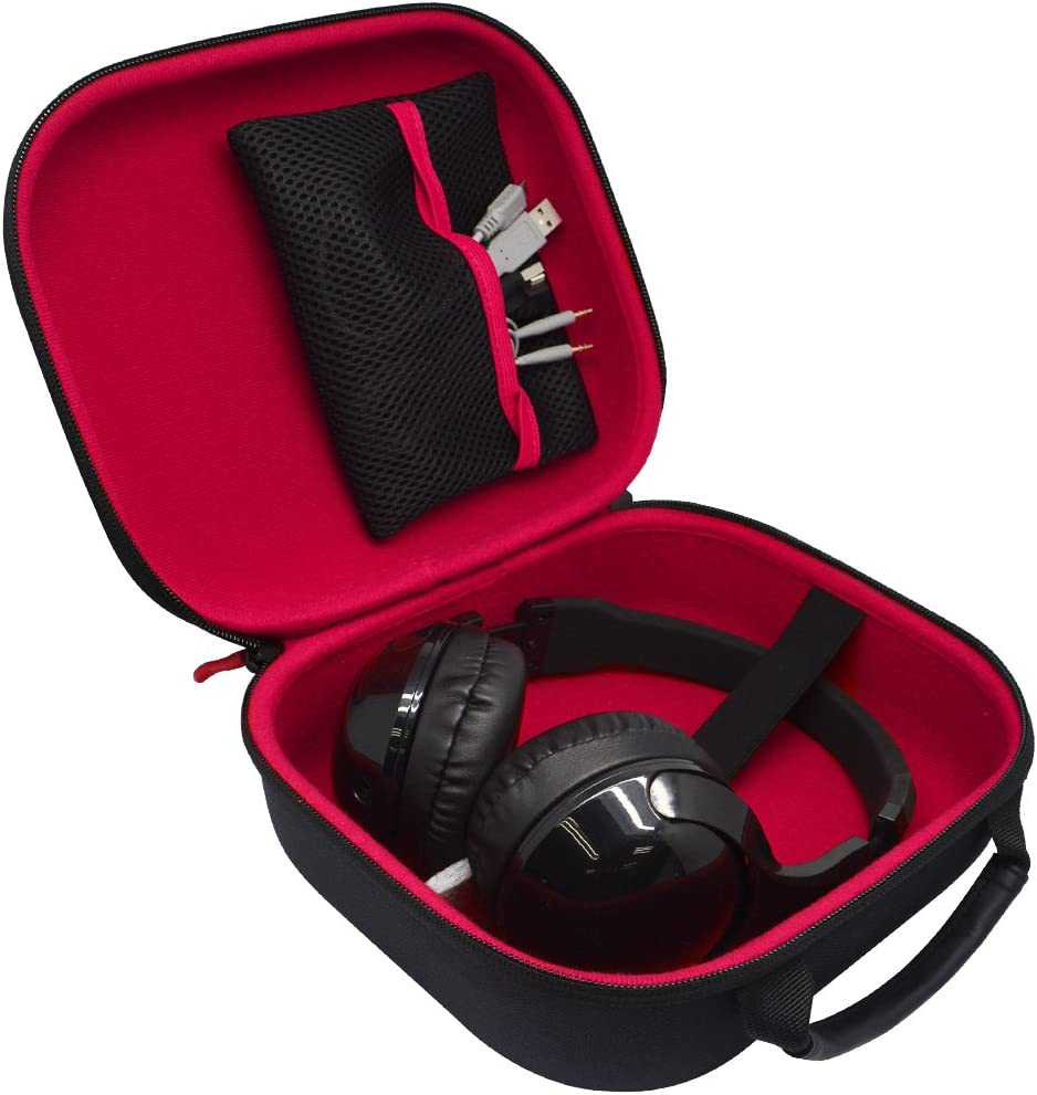 7506 XB-950AP; AKG K553pro K540,K77 K514 Hard Headphone Carrying Case for Sennheiser HD598,HD558,HD555,HD515; Sony v700dj Pioneer HDJ-2000 DENON AH-5000 Philips Fidelio L1 7509hd K512 K511