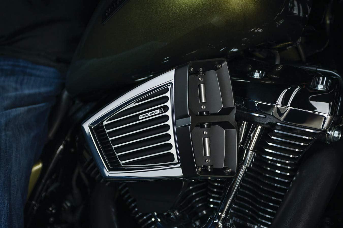 Black Kuryakyn 06-07 Harley FLHX2 Hypercharger ES