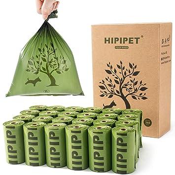 Amazon.com: HIPIPET Bolsas de basura biodegradables para ...