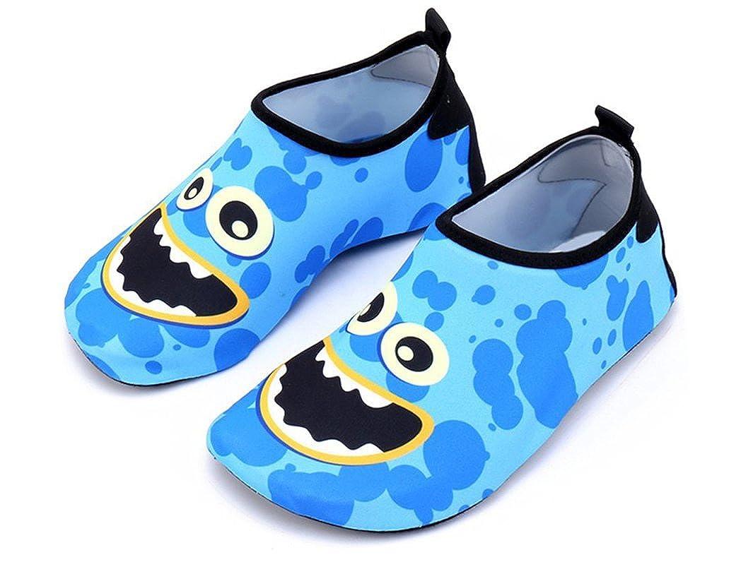 IINFINE Kids Water Shoes Quick Dry Barefoot Socks for Beach Swim Pool