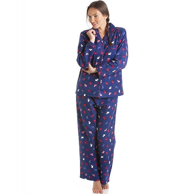 Conjunto de pijama largo - 100% algodón - Estampado con perritos 46/48