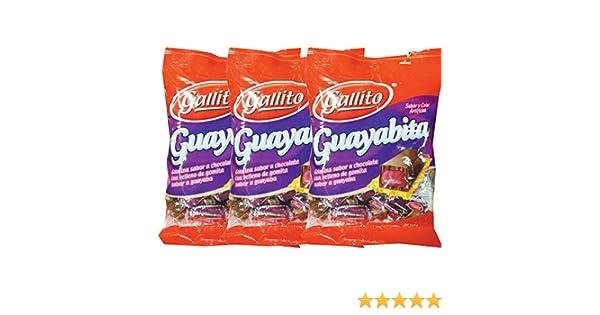 Amazon.com : Snack Gallito (Guayabita) 3 Pack : Candy : Grocery & Gourmet Food