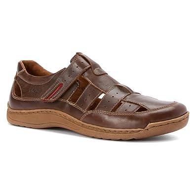 3a9ce4df9af71 Amazon.com | Josef Seibel Men's Milo 07 Moro Oasi Sandal | Sandals
