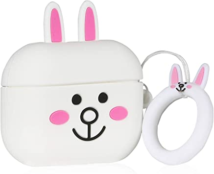 Amazon Com Lupct Cony Rabbit Compatible With Airpods Pro Airpods
