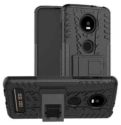 Amazon.com: Yiakeng - Funda para Moto Z4 Play de doble capa ...
