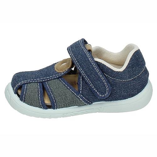 VULCA-BICHA Z-1 Sandalias Azules NIÑO Zapatillas Marino 30