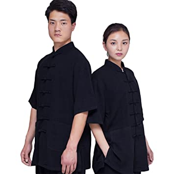 ZooBoo Tai Chi Uniform Clothing - Qi Gong Martial Arts Wing Chun Shaolin  Kung Fu Taekwondo Training Cloths Apparel Clothing for Seniors Beginners  Men
